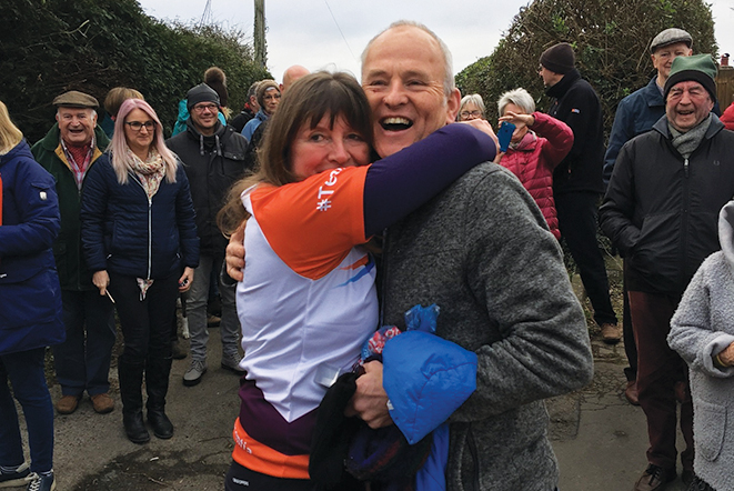 Inspiring mother takes in West Cork on four year charity walk