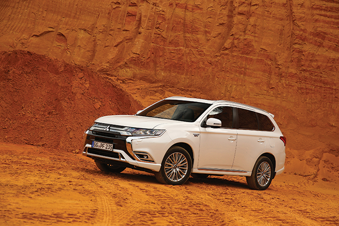 Mitsubishi OutlanderPhev gives peace of mind with eight-year warranty