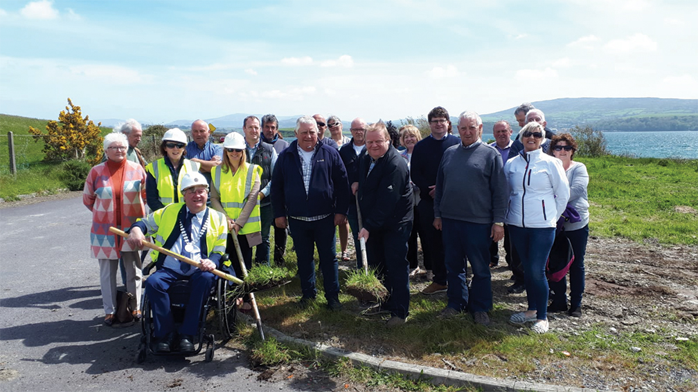 Sod turned on first Community Hall for Whiddy