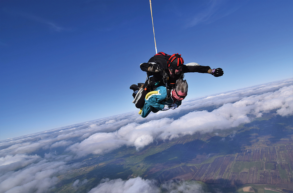 Eyeries daredevils take fundraising to new heights