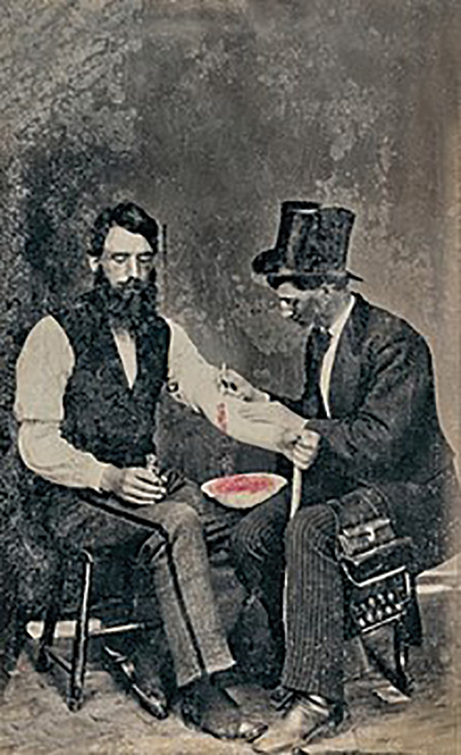 The Victorian art of bloodletting