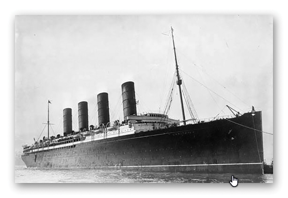 New model of Lusitania 'launched' in Courtmacsherry