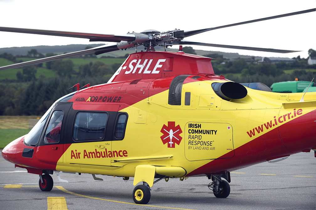 ICRR welcomes contract signing for new Air Ambulance Service