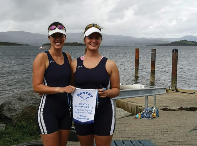 Castletownshend duo  represents West Cork on the world rowing stage