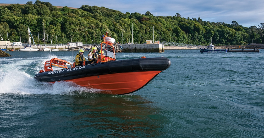 Bantry Inshore Search and Rescue association there in times of trouble