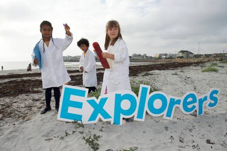 Free Explorers fun ocean facts and lesson plans for primary school children
