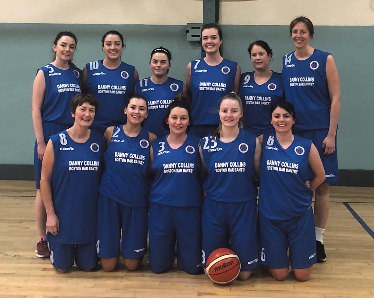 Bantry ladies return to basketball court success after lengthy exile
