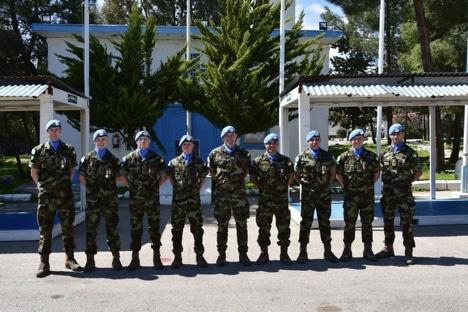 Cork soldiers recognition for UN service