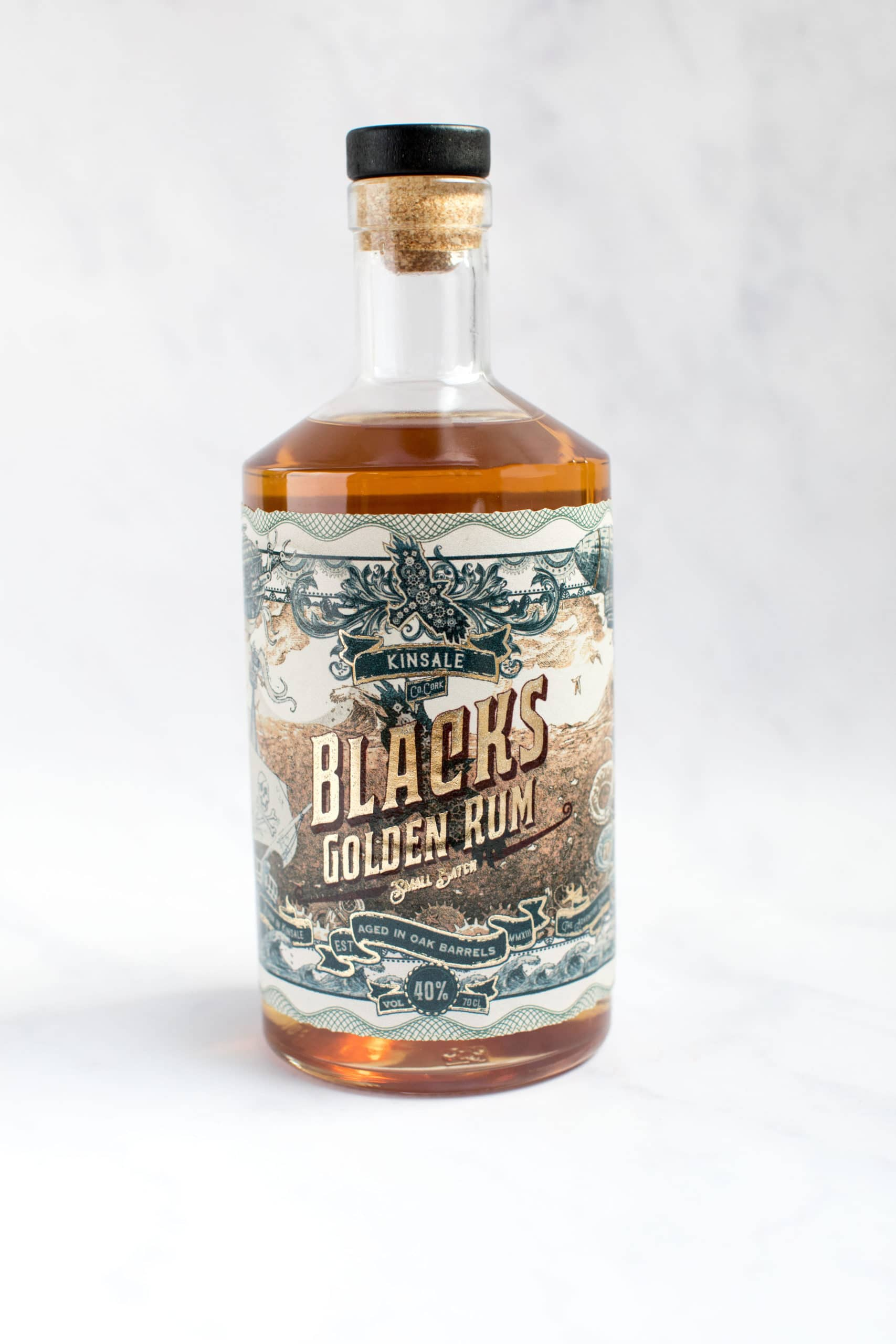 Blacks of Kinsale brings home Gold for Golden Rum at World Rum Awards