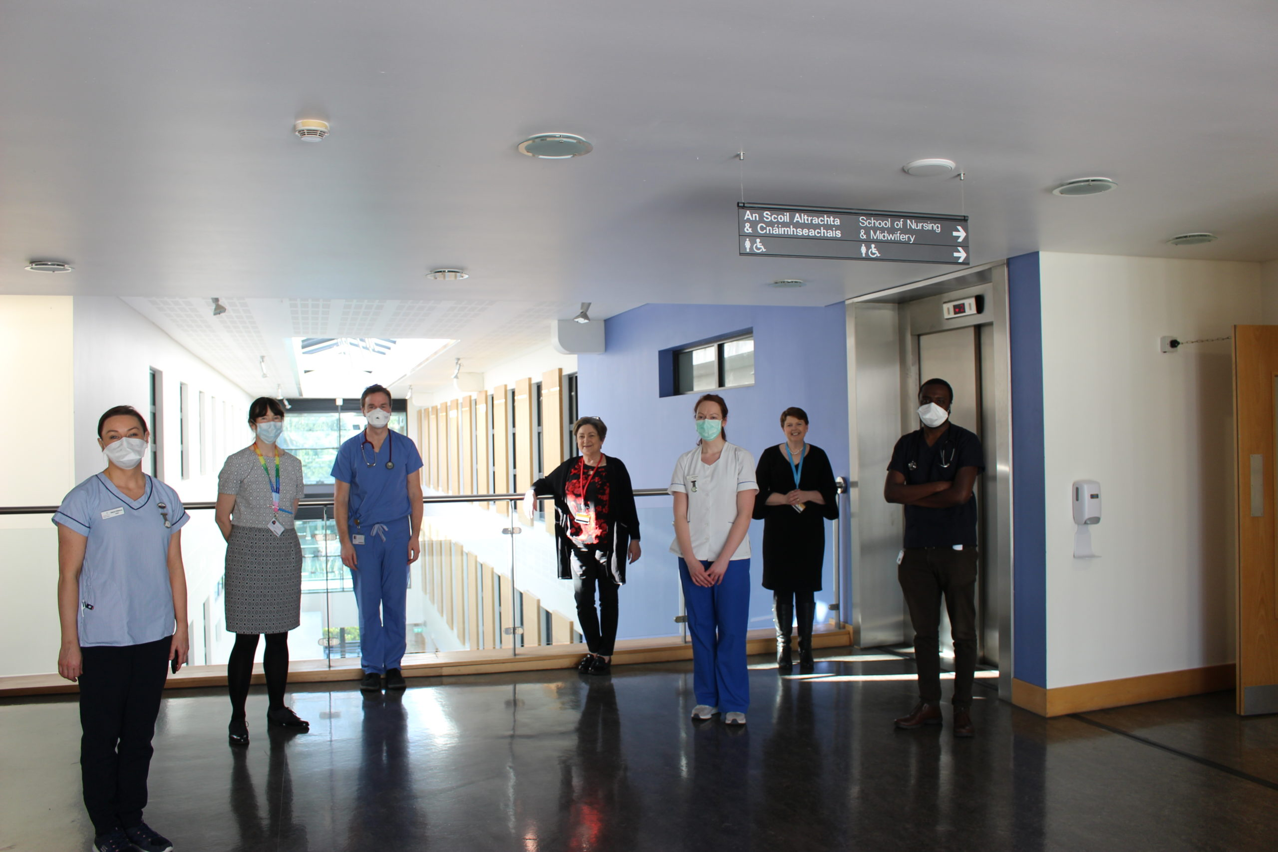 UCC's School of Nursing transformed into HSE Oncology Day Service during COVID-19 crisis