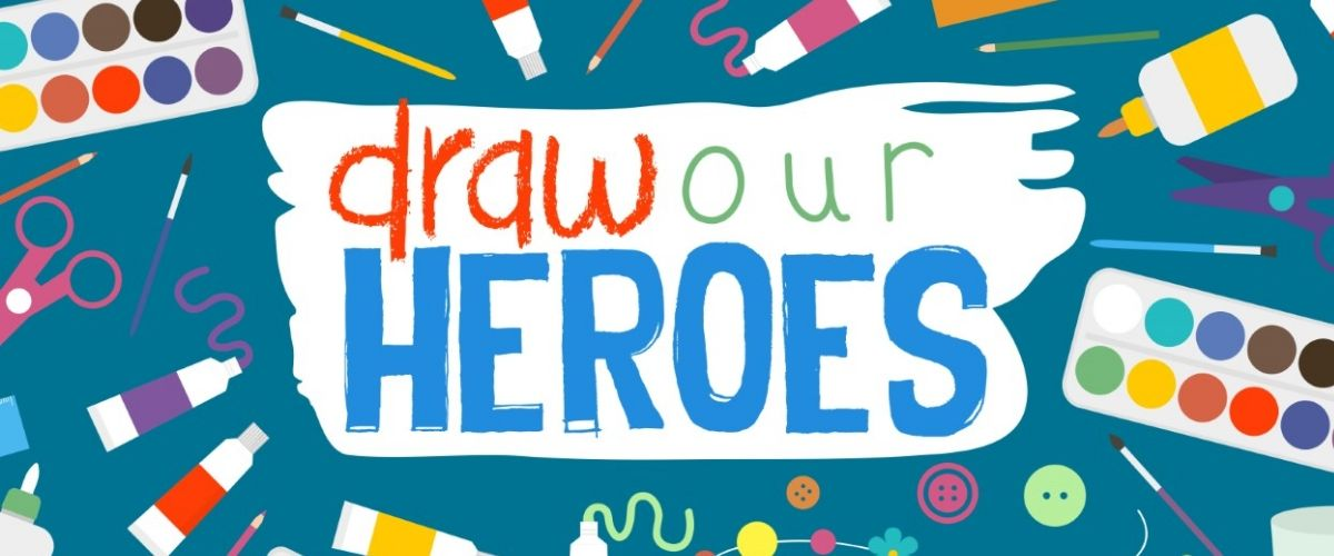 "Art competition challenges young artists to ""Draw Our Heroes"""