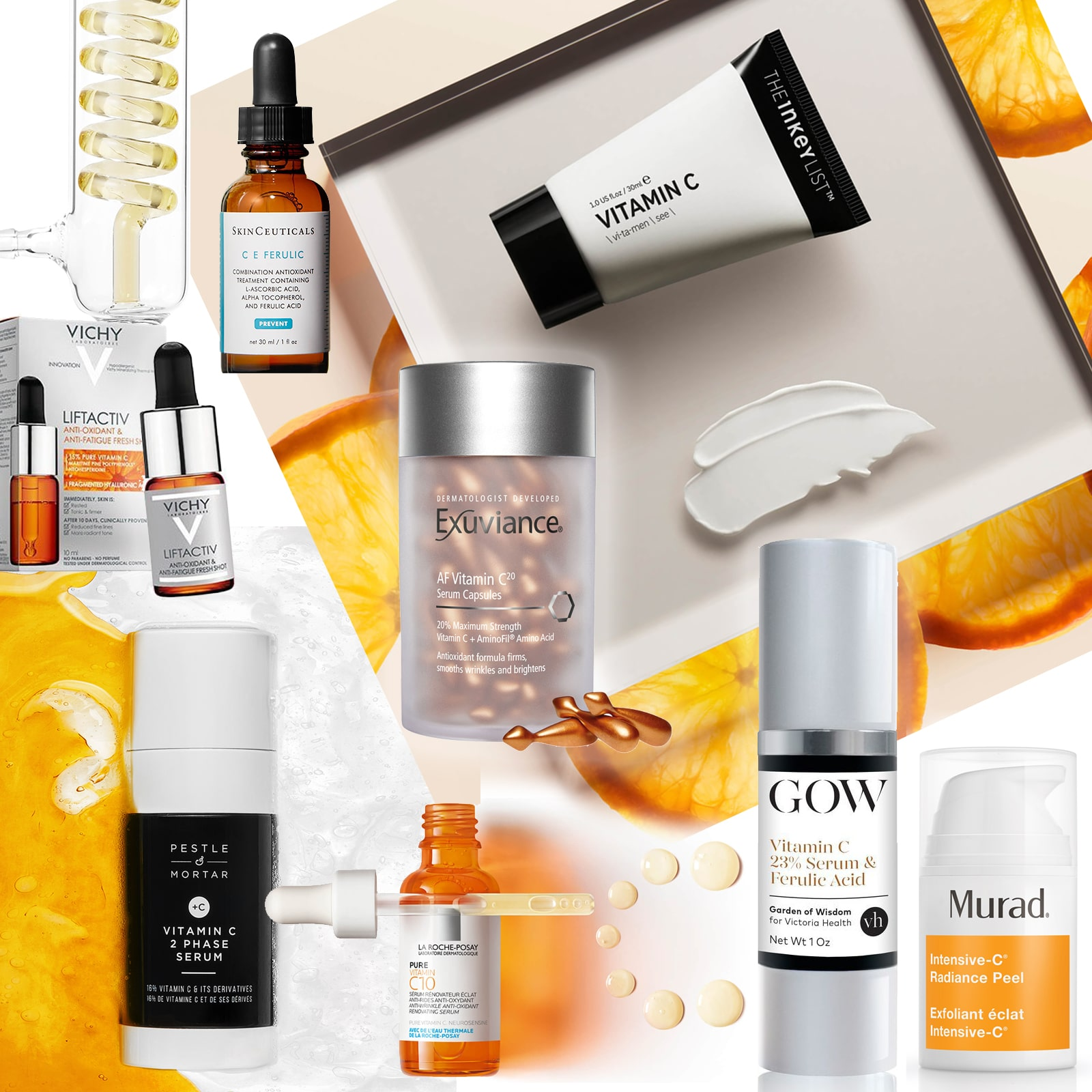 Vitamin C for brighter glowing skin