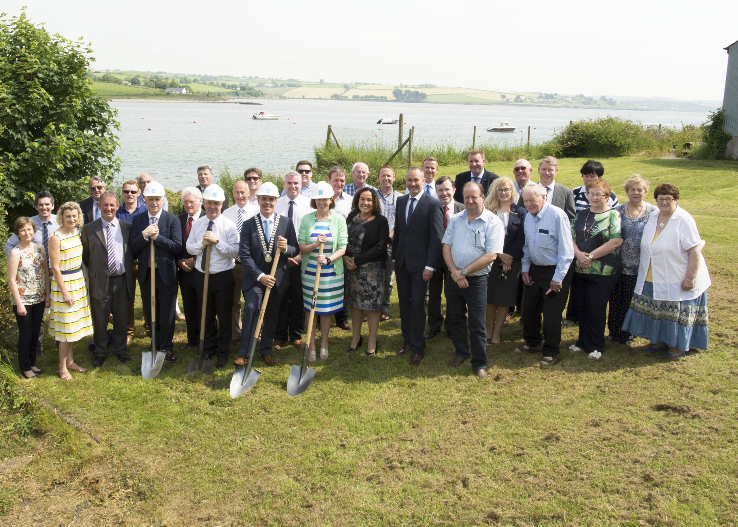 Completion of new Courtmacsherry-Timoleague Sewerage scheme will bring extensive benefits to local community
