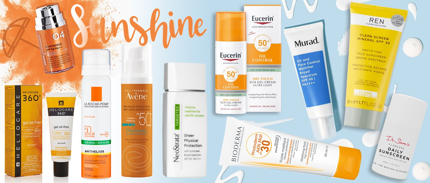 Ten SPFs for acne prone skin