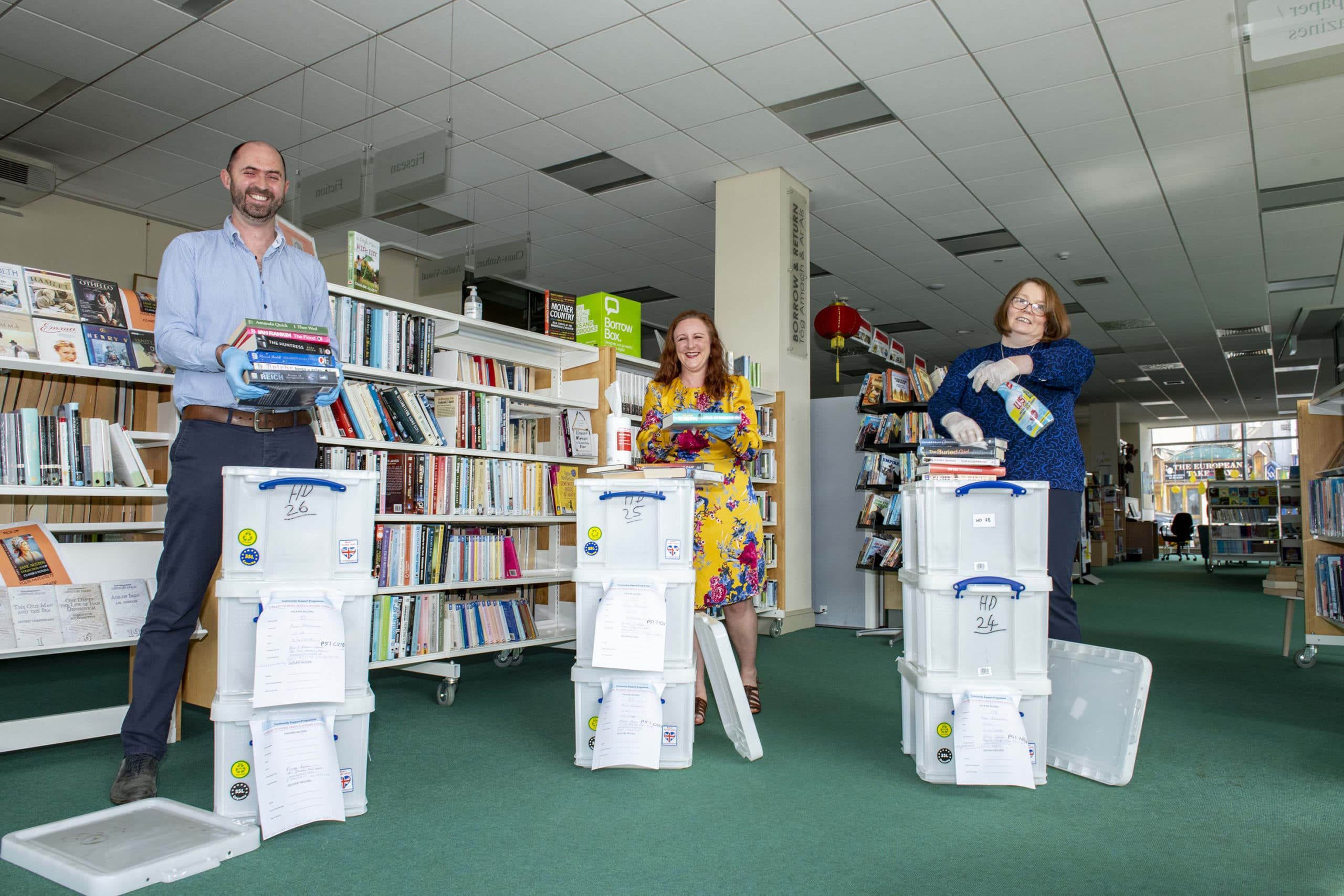 Cork County Council expands successful library delivery service