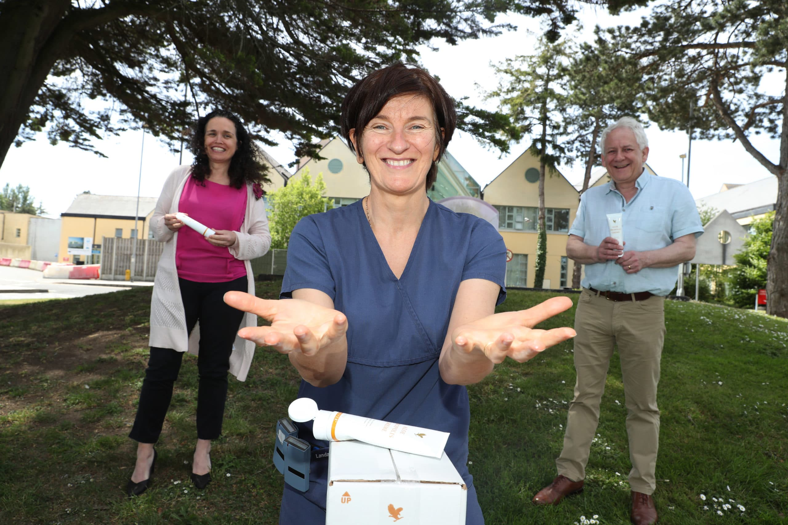 Cork front line nurses to get CWU donation of 'Propolis' cream to help treat skin damage and irritation from prolonged PPE use