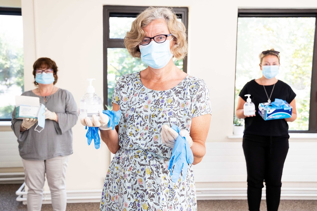 Spike in demand drives appeal for Meals on Wheels PPE