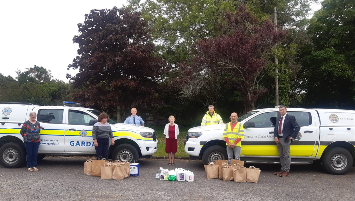 Gardaí and Ballydehob Community Alert Group to distribute Care Packs in the Mizen Area