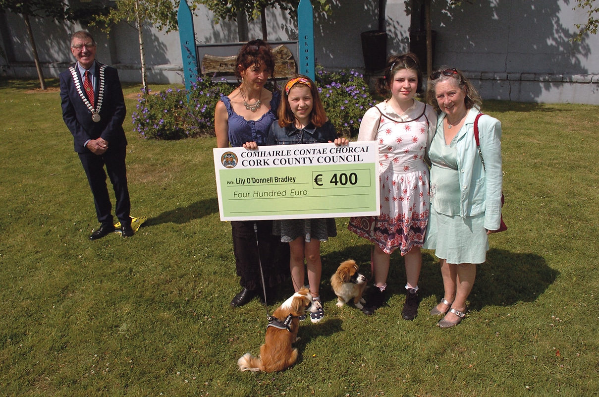 Clonakilty pupil and school claim overall prizes in the Stories of the Revolution Schools' Folklore project