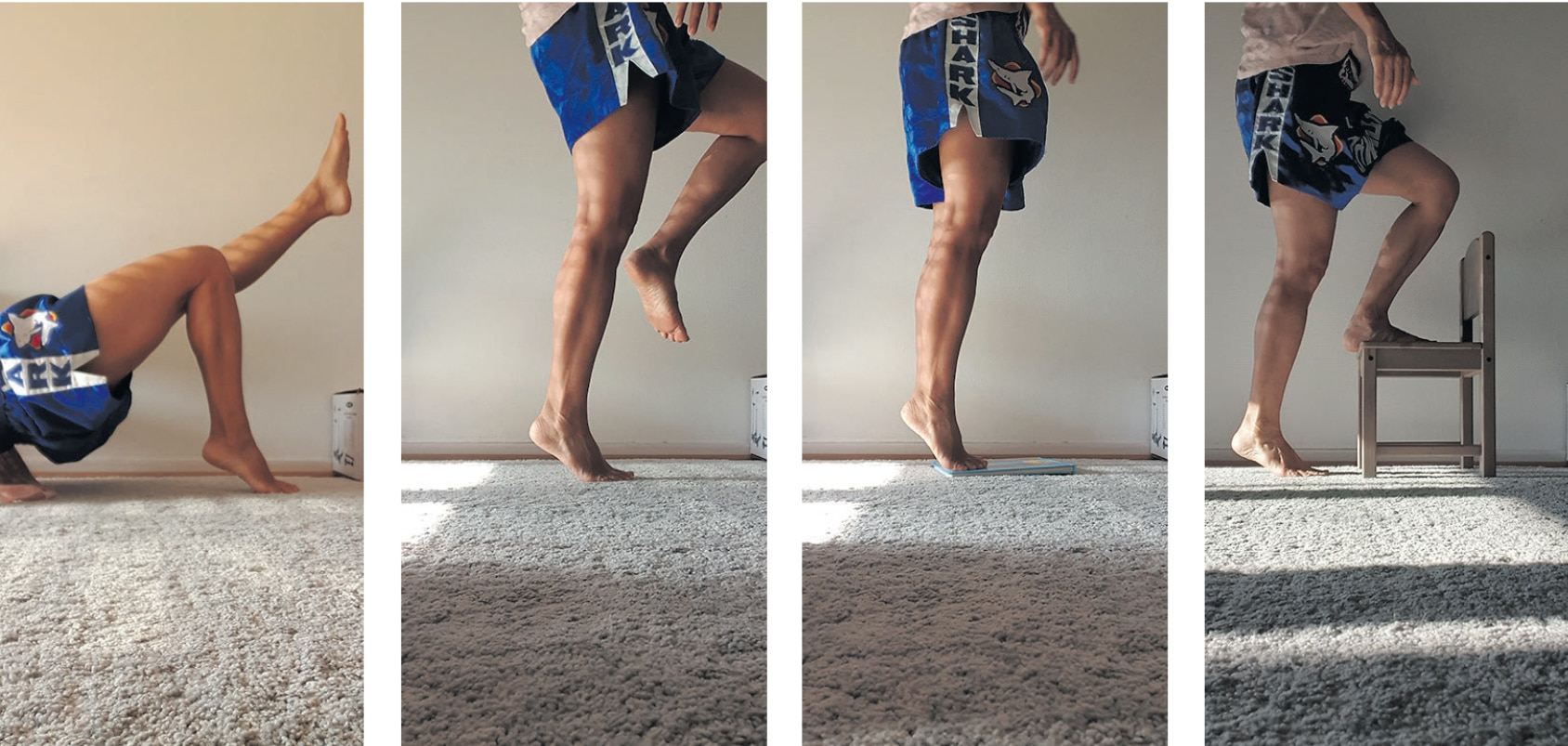Strengthening the calf muscles