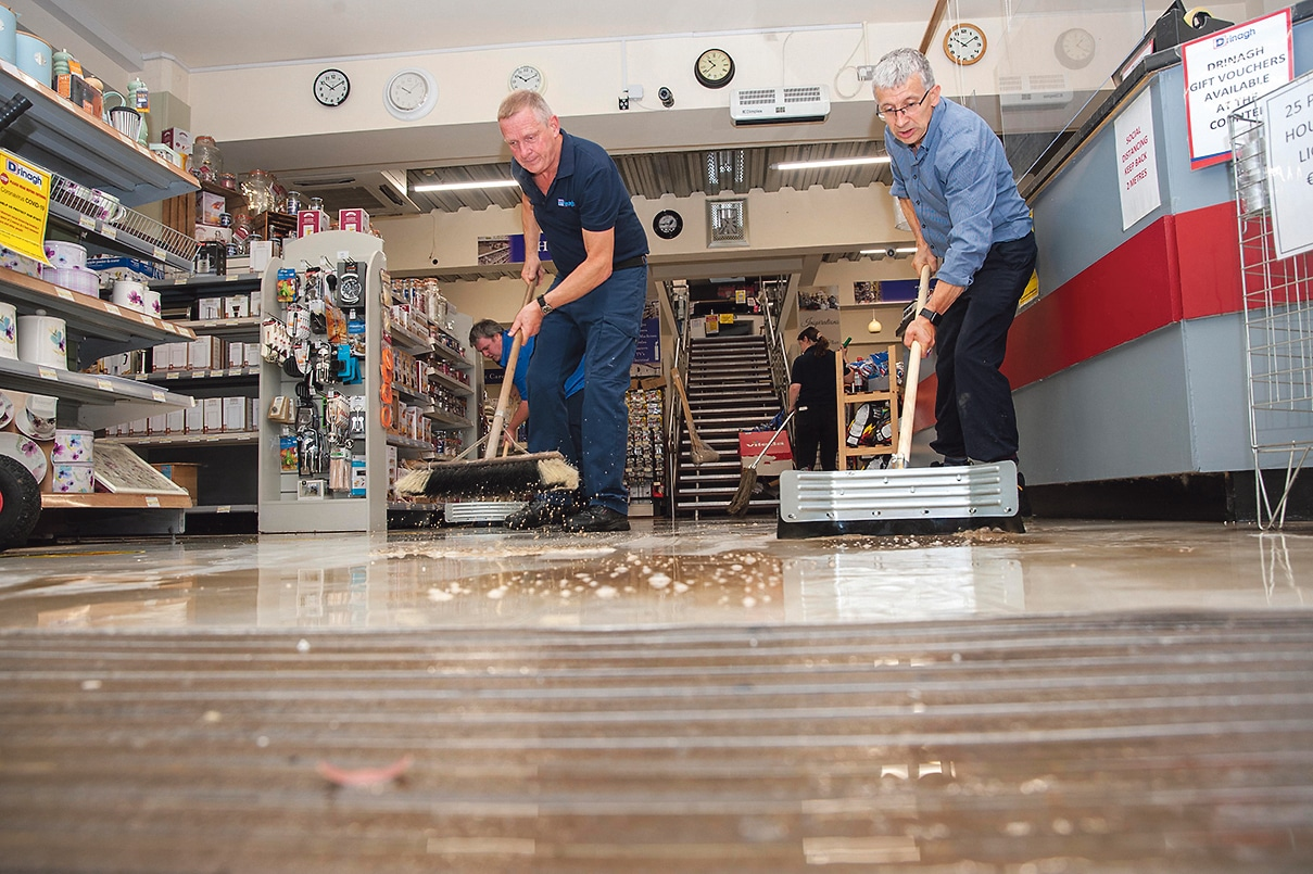 Community spirit evident in recent flooding but West Cork wants action