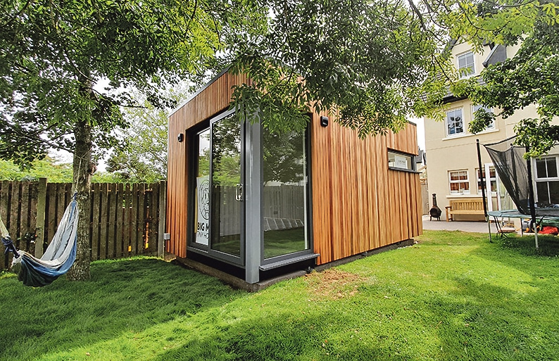 Enhance your work life and garden with an office space from Big Man Tiny Homes