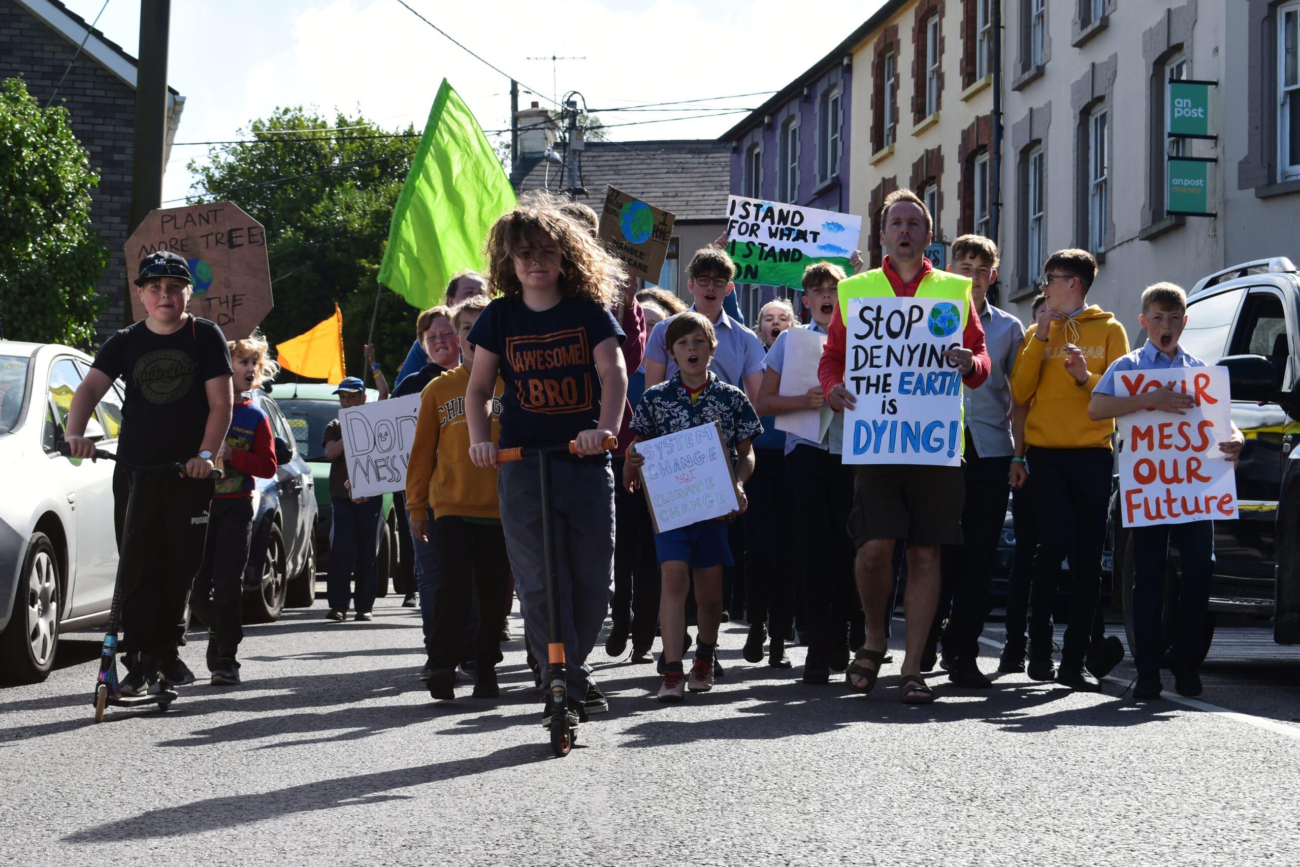 Climate strike in Bantry