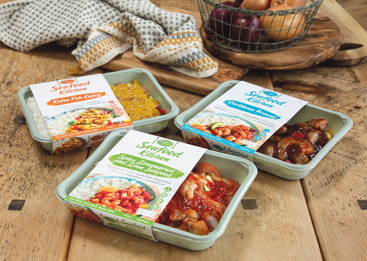 Tipping the scales… Morgan's Fine Fish launch healthy 'ready to cook' seafood meals