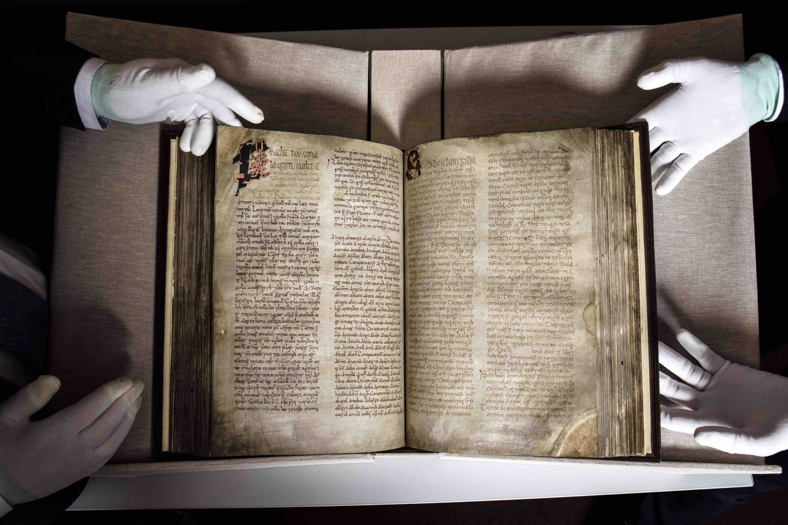 One of the Great Books of Ireland created in West Cork returns home