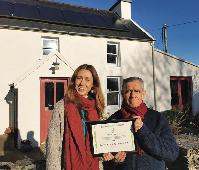 Carbery Housing Association recognised for its work in sustainability