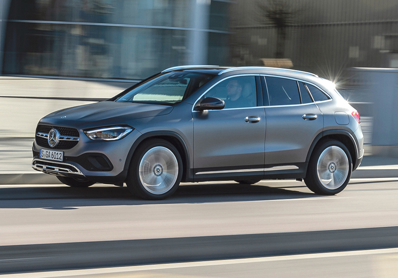 Mercedes GLA steps up in second edition