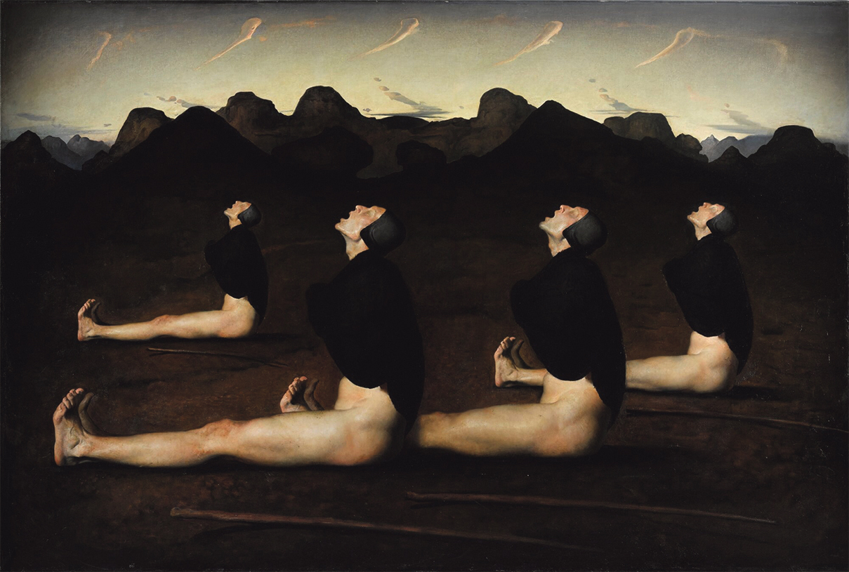 Rhyme and Rhythm in Painting:  Reflections on Dawn by Odd Nerdrum