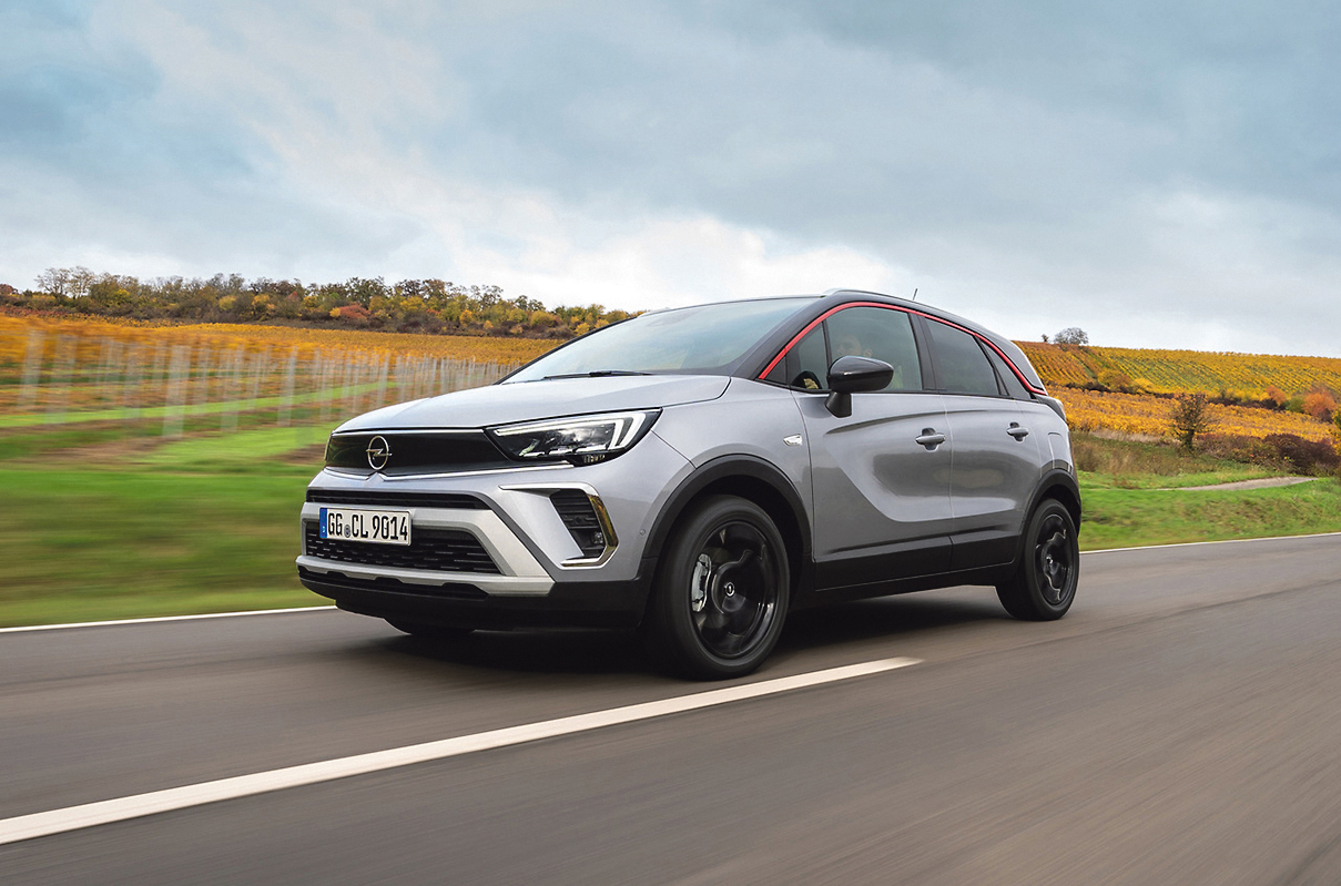 The new Opel Crossland offers an attractive package