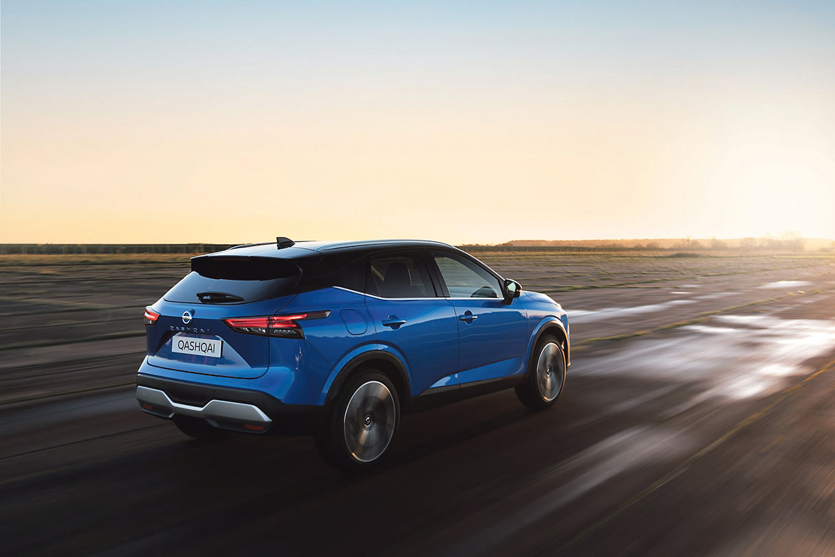 Nissan Qashqai flexes its muscles with hybrid and electric versions