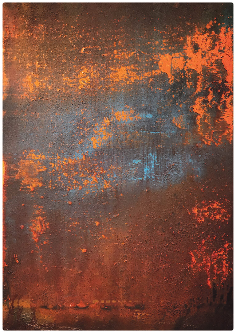 Scudding the orange electric: new paintings by Michael McSwiney