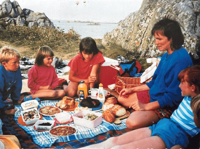 Picnicking – the Organico family way
