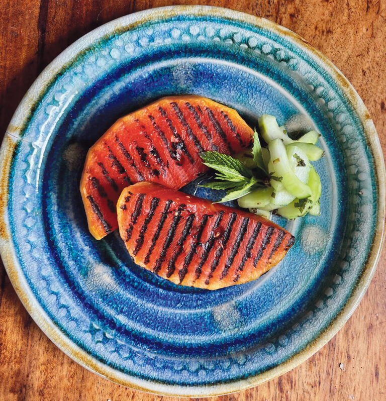 Grilled watermelon will surprise you
