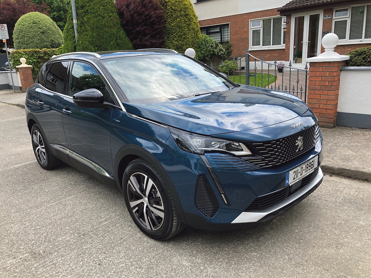 Ease into electric with hybrid Peugeot 3008