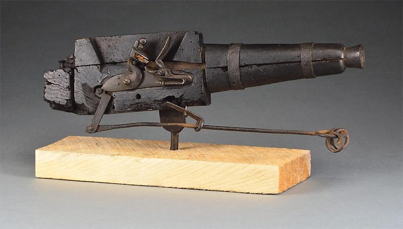 The cemetery gun