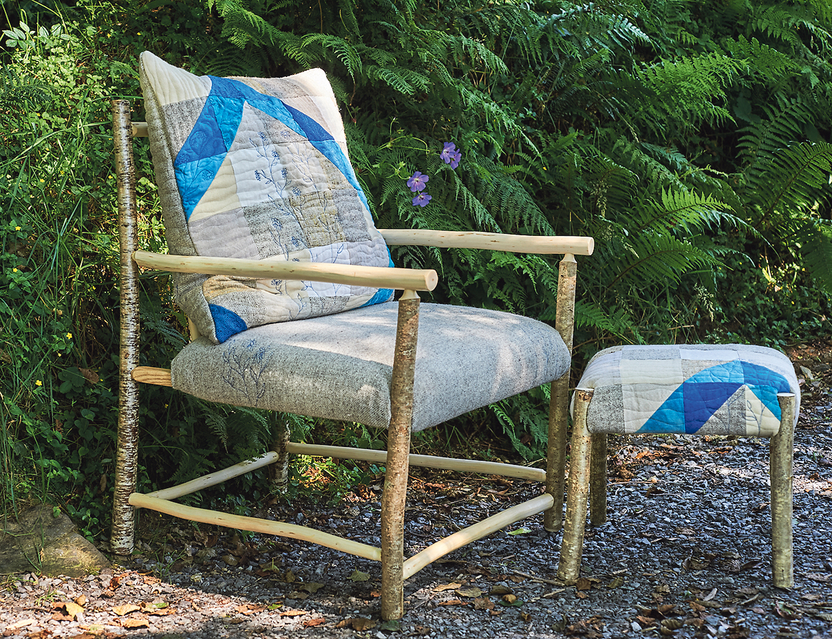 Artists collaborate on limited edition collection of hazel furniture