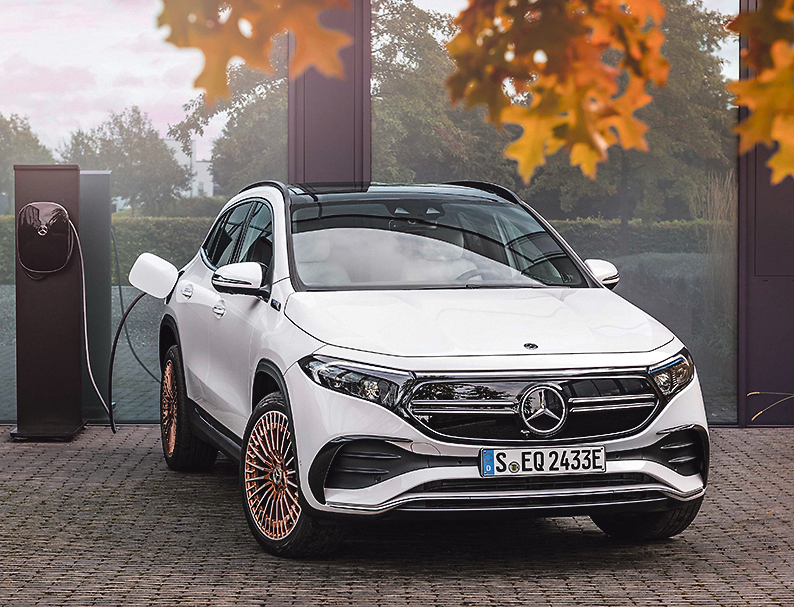 Electric offering from Mercedes