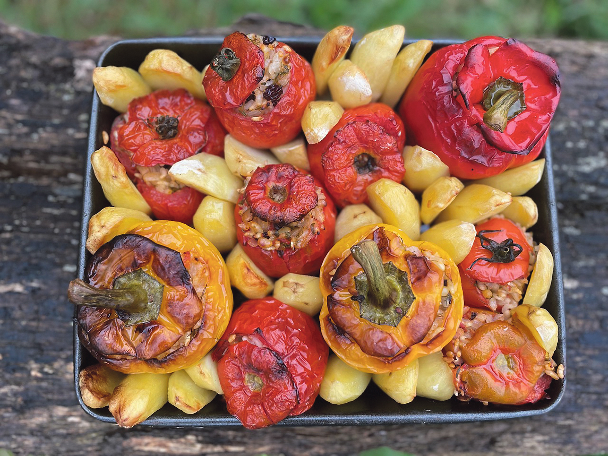 Traditional Greek cuisine stuffed with flavour