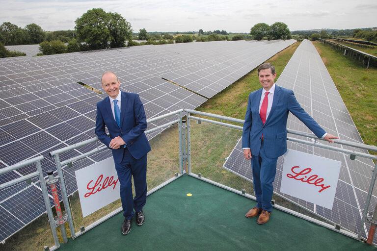 Taoiseach opens Ireland's largest solar farm in Kinsale