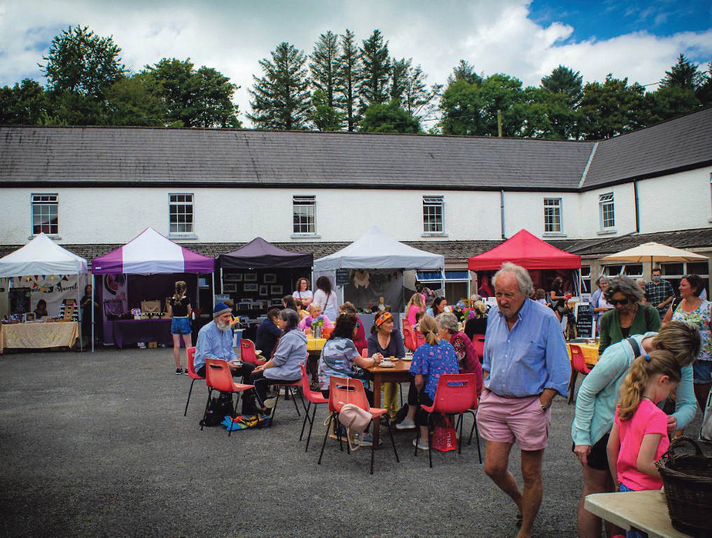 First Sustainable Market for West Cork at Myross Wood House