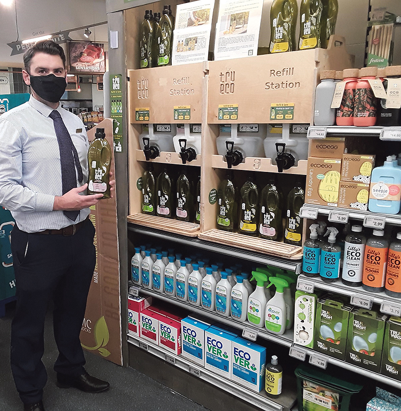 SuperValu Bantry introduces circular economy solutions with Tru Eco