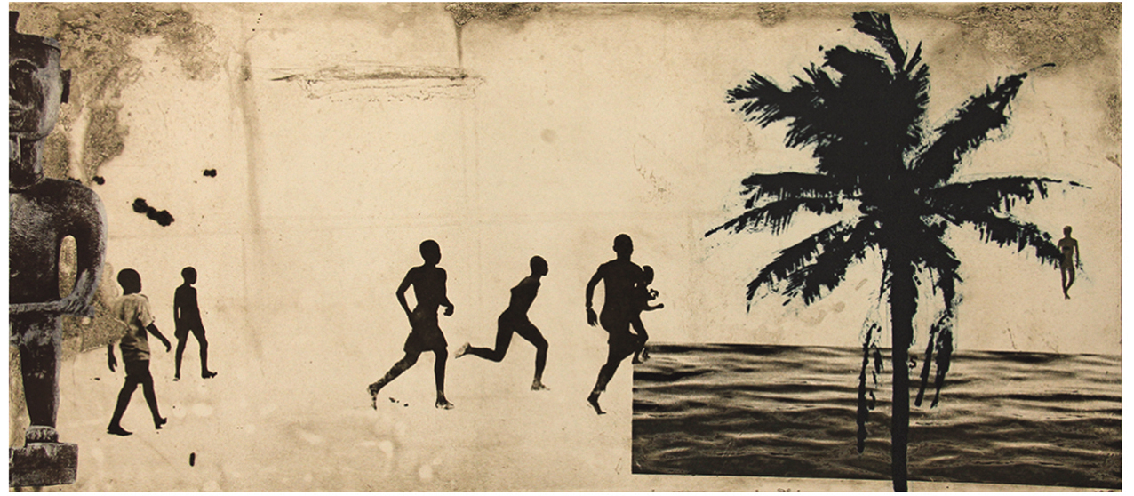 Johnny Bugler: Driftwood, etching and the surfaces of memory